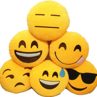 idee regalo emoji cuscino