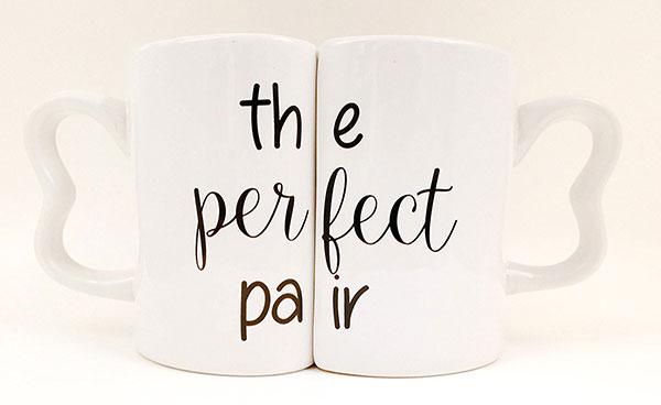 "Set tazze per coppia ""The Perfect Pair"""