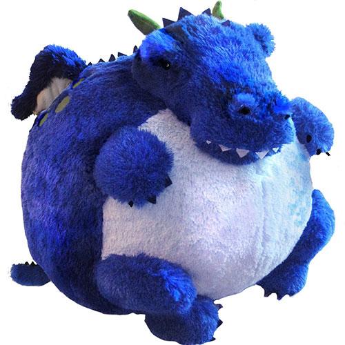 Peluche per Lui: Drago blu Squishable