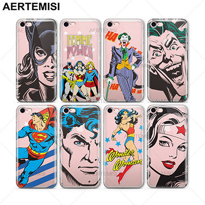 Cover iPhone X Supereroi DC