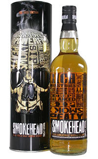 Idee regalo migliori whisky torbati insoliti - Smokehead Rock Edition