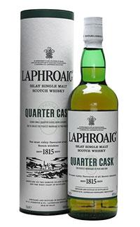 Idee regalo migliori whisky torbati insoliti - laphroaig quarter cask