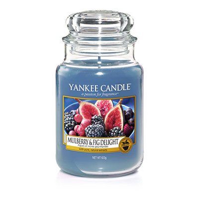 Candele in giare di vetro autunno 2017. Yankee Candle Mulberry & Fig