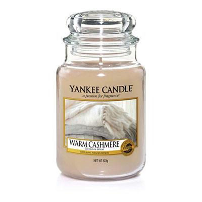 Candele in giare di vetro autunno 2017. Yankee Candle Warm Cachemire