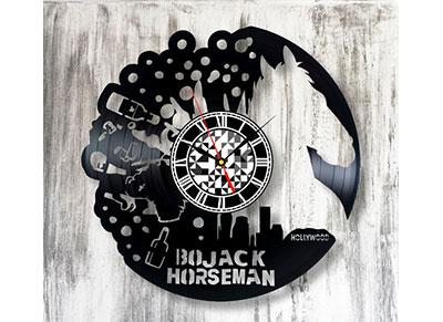 Orologio da muro - idee regalo a tema Bojack Horseman