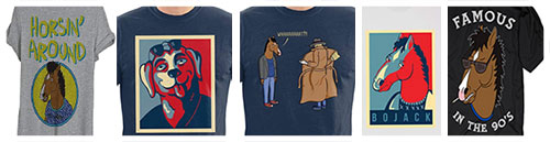 T-shirt Idee regalo Bojack Horseman