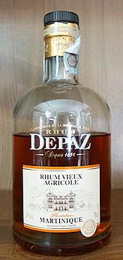 Bottiglia di Rum Depaz